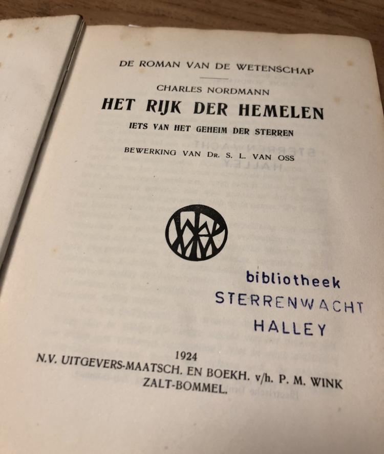Het Rijk der Hemelen, 1924 – Boekverslag