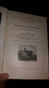 Wonderen des Hemels, 1898 – Boekverslag