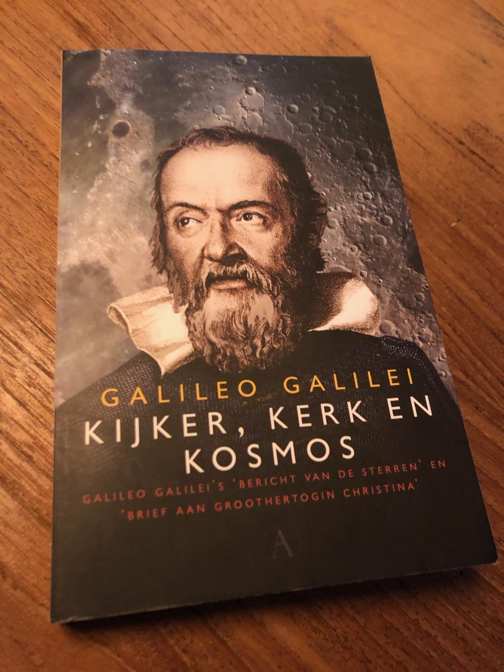 Galileo Galilei; Kijker, Kerk en Kosmos, 2017 – Boekverslag