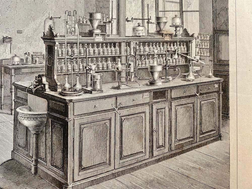 Je bekijkt nu Atlas van de Scheikunde – 1874