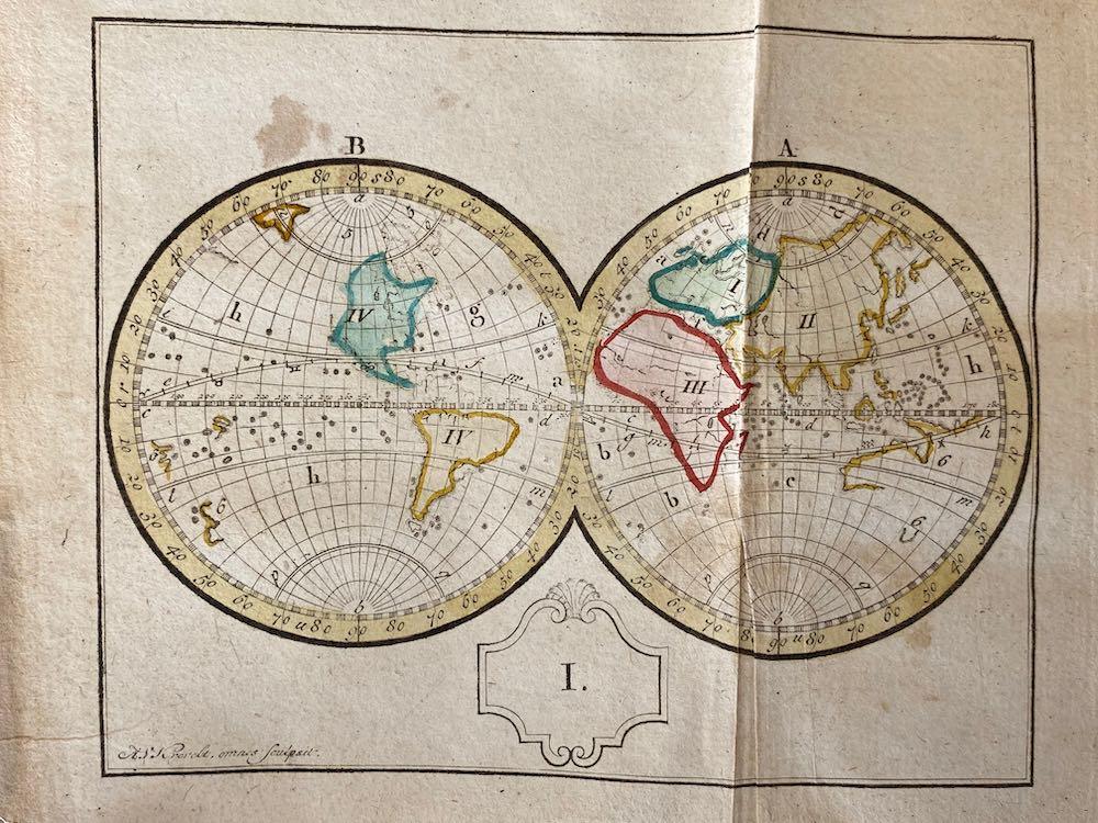 Geografische Oefening – 1783 INGEZIEN