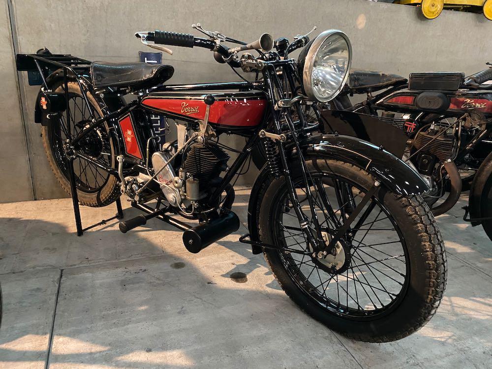 Flat Tank Motor – Terrot FSS 250cc van 1926 – GEZIEN