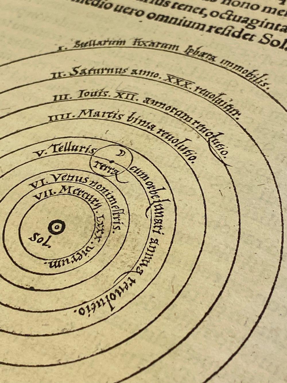 Revolutionibus – 1543 INGEZIEN