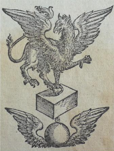 Uitgever Johan Griffioen (Ioan Gryphium) uit Venetië – 1550
