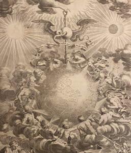 Lees meer over het artikel Fraaie frontispieces uit mijn (bekeken) astronomie boeken.