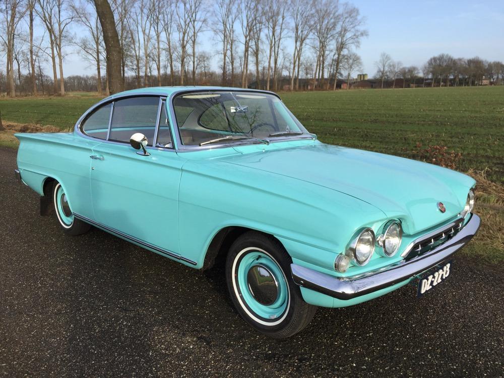 Je bekijkt nu Ford Consul Capri – 1962