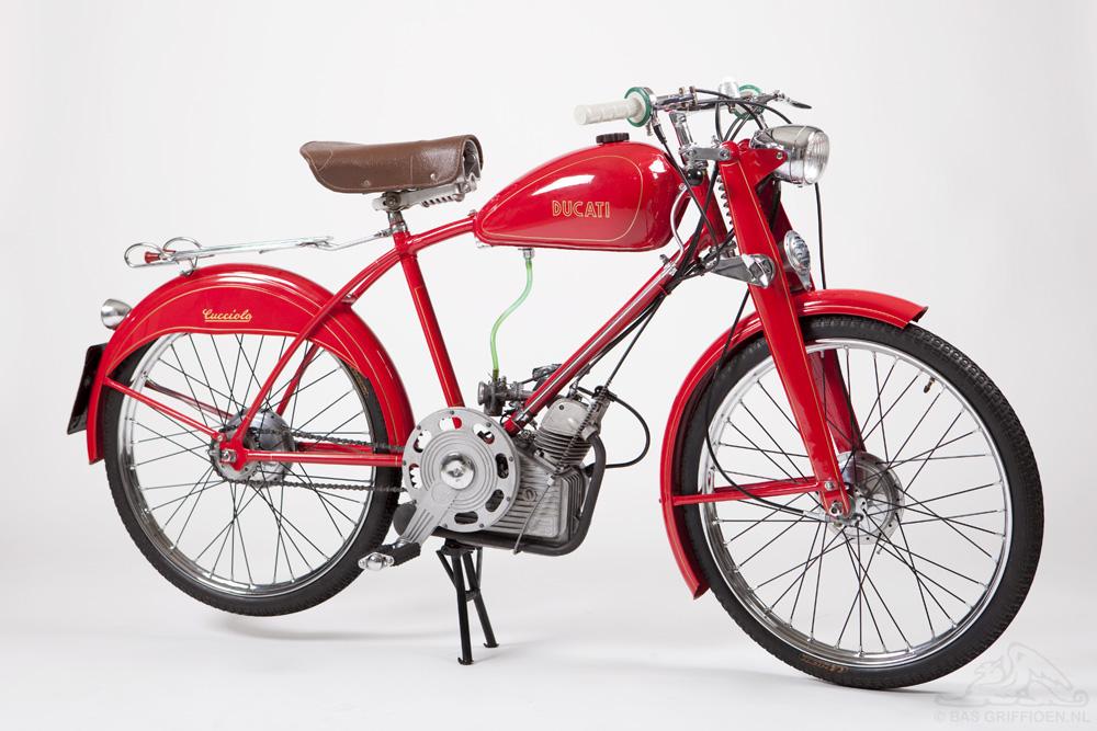 Je bekijkt nu Ducati Cucciolo T2 – 1949