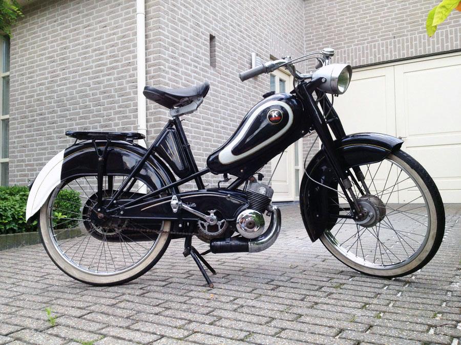 Je bekijkt nu Mobylette S25B – 1961