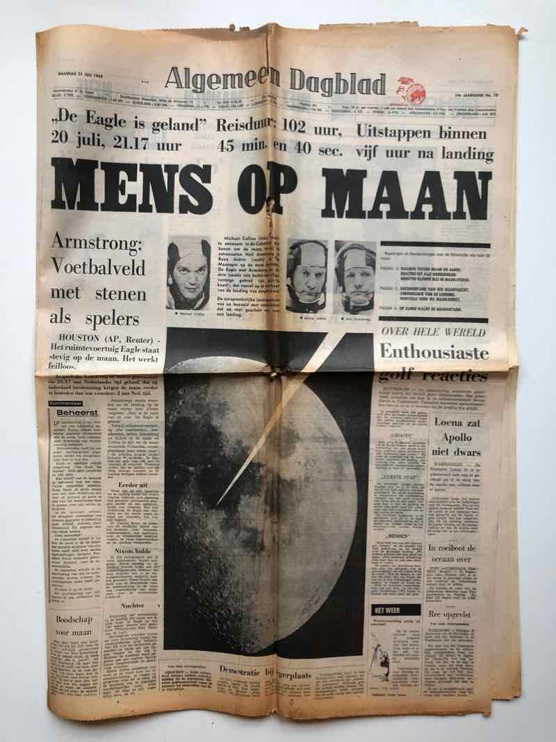 Je bekijkt nu Oude Apollo kranten