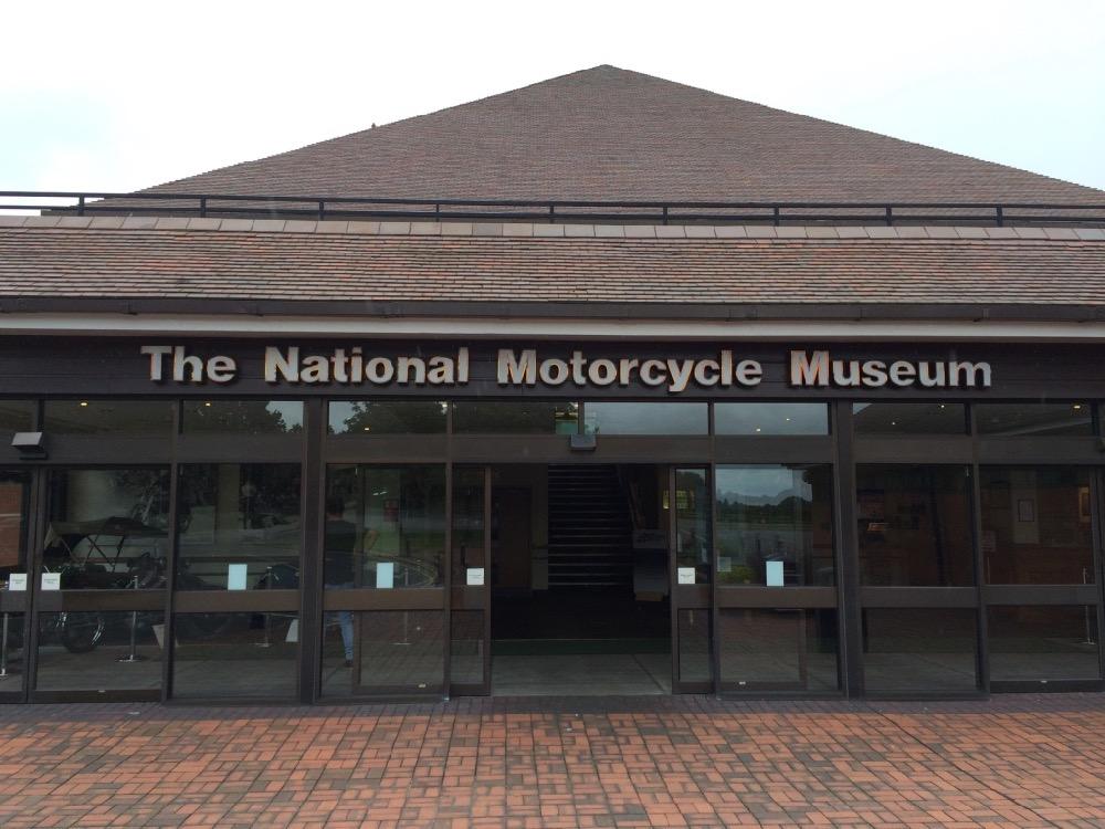 Je bekijkt nu Motorcycle Museum – Birmingham (UK) – 2015