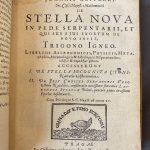 Stella Nova – 1606 INGEZIEN